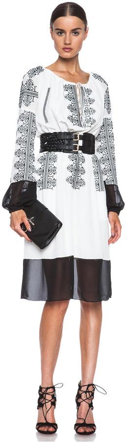 Altuzarra Brigitte Silk Dress