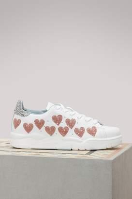 Chiara Ferragni #FindMeInWonderland sneakers
