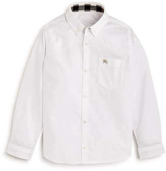 Burberry Boys' Button-Down Shirt - Little Kid, Big Kid