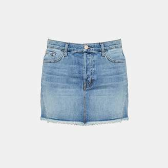 Theory J Brand Bonny Denim Mini Skirt