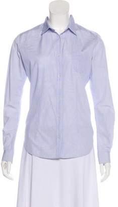 Golden Goose Long Sleeve Button-Up Top