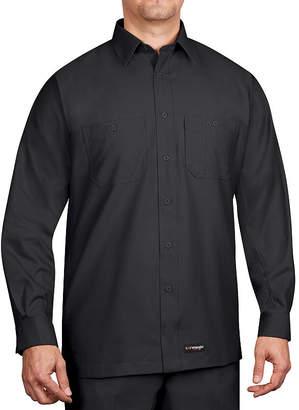 Wrangler Workwear Long-Sleeve Work Shirt - Big & Tall