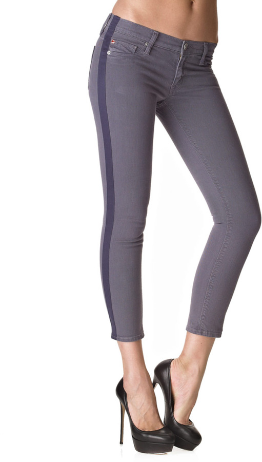 Hudson Jeans Tuxedo-Style Lou Lou Skinny Pant