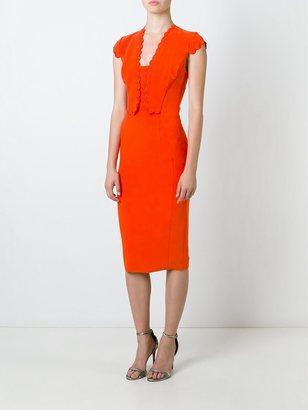 Antonio Berardi scallop detail dress $1,447 thestylecure.com