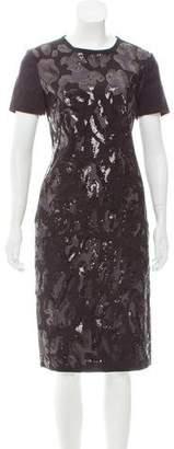 Tory Burch Embellished Wool Dress