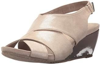Anne Klein AK Sport Women's Carolyn Fabric Wedge Sandal