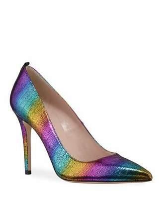 Sarah Jessica Parker Fawn Rainbow Metallic High-Heel Pumps