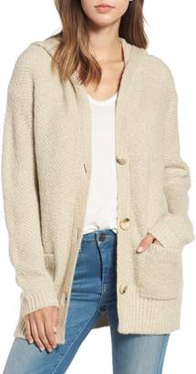 BP Knit Hooded Cardigan