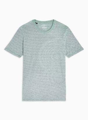 Selected Mens Green 'Perfect' T-Shirt