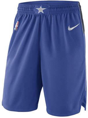 Nike Men's Dallas Mavericks Icon Swingman Shorts