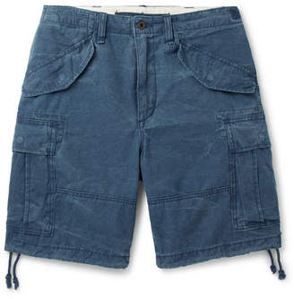 Polo Ralph Lauren Washed Cotton-ripstop Cargo Shorts
