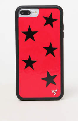 Wildflower Red Vinyl Star 6/7/8 Plus iPhone Case