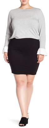 Vince Camuto Short Pull On Skirt (Plus Size)