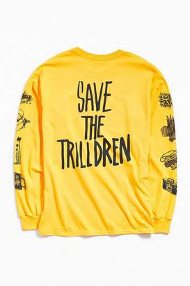 Urban Outfitters Nick Grant Save The Trilldren Long Sleeve Tee