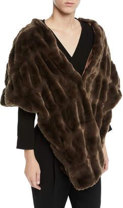 Couture Fabulous Furs Pocket Shrug Shawl