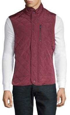 Tailorbyrd Tai Diamond Quilted Vest