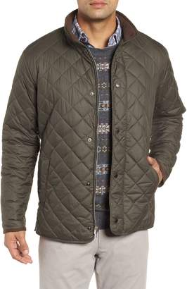 Peter Millar Suffolk Quilted Water-Resistant Car Coat