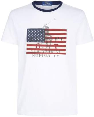 Polo Ralph Lauren Flag T-Shirt