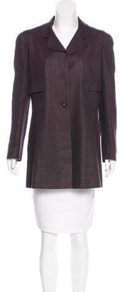 Chanel Linen & Wool Coat
