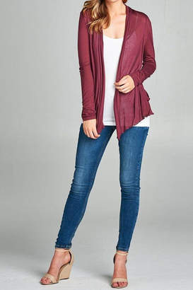 Active Basic Flyaway Cardigan