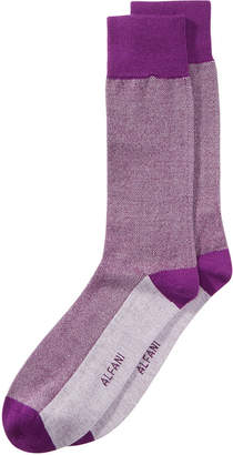 Alfani Men's Pique Knit Dress Socks, Created for Macy's