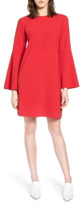 Halogen Bow Back Flare Sleeve Dress (Petite)