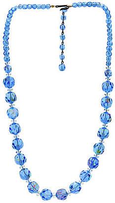 One Kings Lane Vintage Laguna Graduated Crystal Necklace