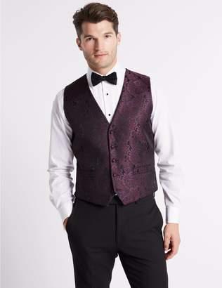 Marks and Spencer Brocade Waistcoat