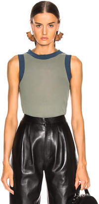 Acne Studios Erica Tank Top in Dusty Green | FWRD