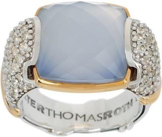 Peter Thomas Roth Sterling & 18K Clad Gemstone Ring