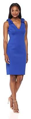 Eliza J Women's Sheath Dress with Bow Detail