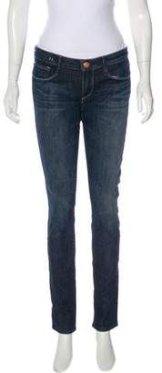 Earnest Sewn Mid-Rise Skinny Jeans