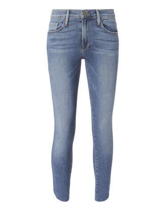 Frame Le Skinny De Jeanne Crop Tulip Jeans