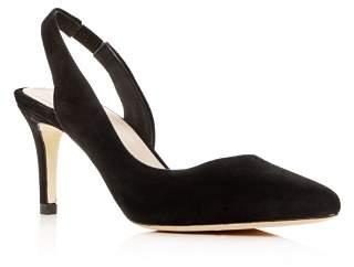 Pour La Victoire Women's Darla Slingback Pointed-Toe Pumps