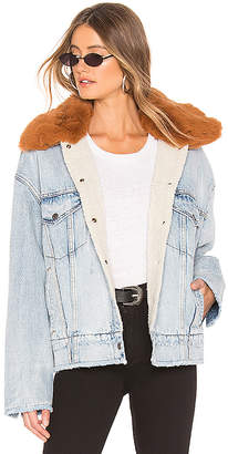 Levi's Oversized Sherpa Trucker Jacket.