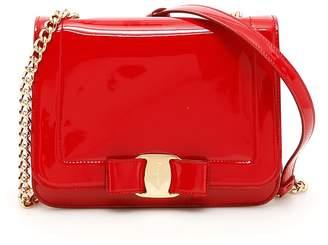 Salvatore Ferragamo Patent Vara Rainbow Bag