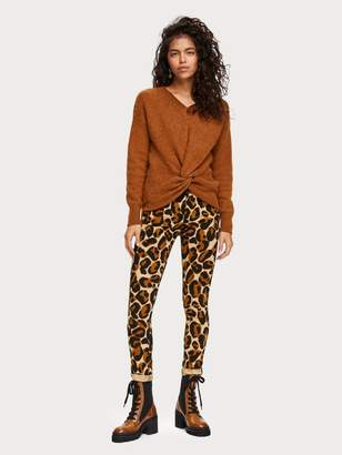 Scotch & Soda Printed Jeans Mid rise skinny fit