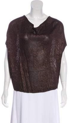 Vince Short Sleeve Knit Top