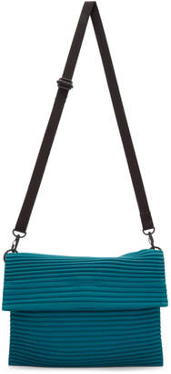Issey Miyake Homme Plisse Blue Pleats Flat Bag