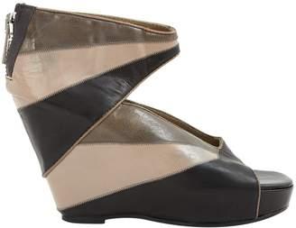 Rick Owens Leather Heels