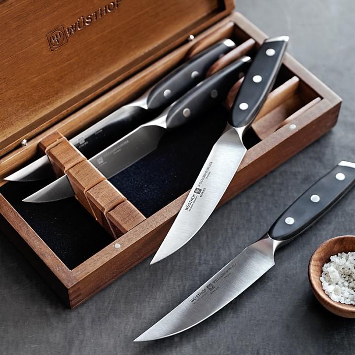 Wusthof Precision Steak Knives, Set of 4