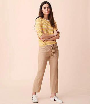 Lou & Grey Garment Dye Linen Pants