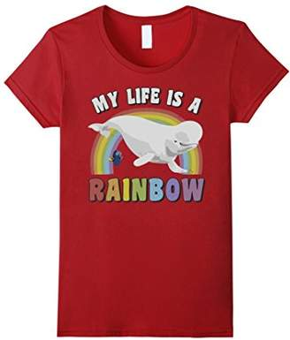 Disney Pixar Finding Dory Bailey My Life's A Rainbow T-Shirt