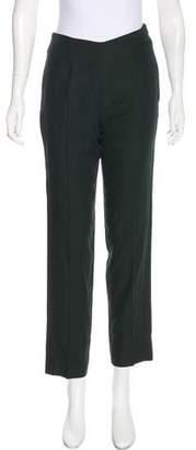 Dolce & Gabbana Wool High-Rise Pants
