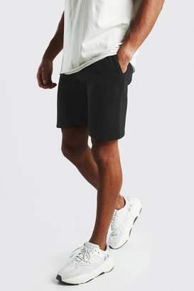 boohoo Jersey Mid-Length Shorts