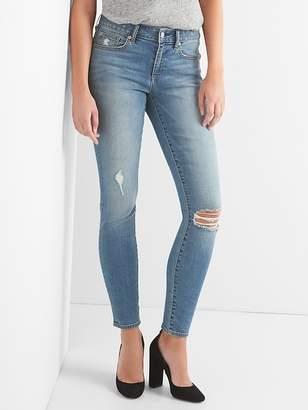 Gap Mid Rise True Skinny Curvy Jeans