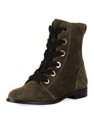 Kate Spade raquel suede lace-up Booties