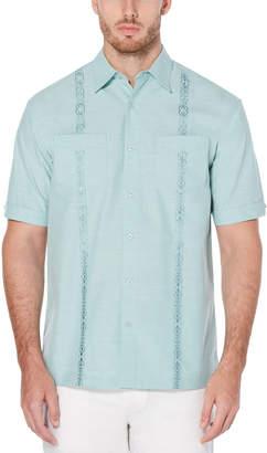 Cubavera Double Pocket Embroidery Shirt