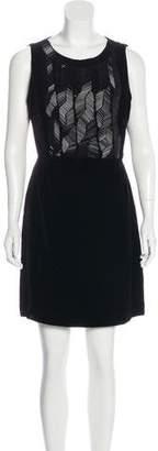 Sophie Hulme Silk Mini Dress