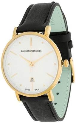 Larsson & Jennings Lugano Jura Leather 38mm watch
